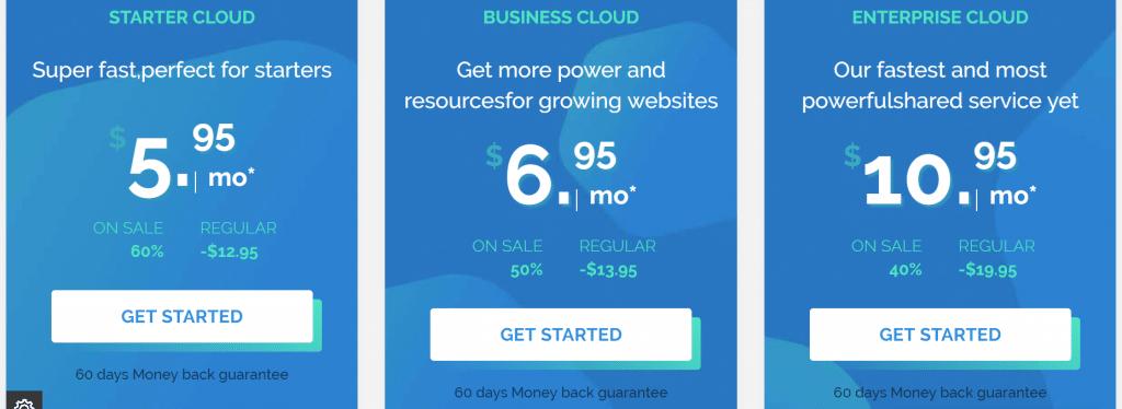 TMDHosting Cloud Plans