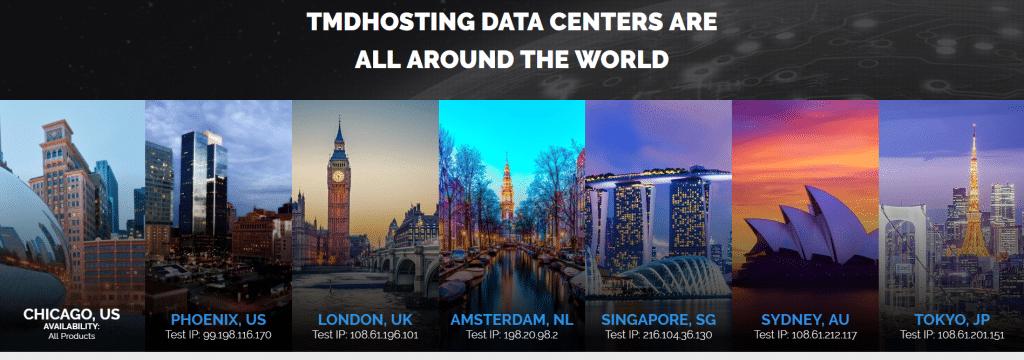 TMDHosting Data Center Locations