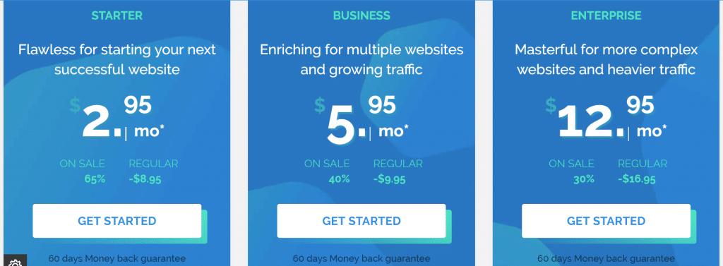 TMDHosting WordPress Plans
