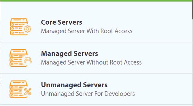 A2 Hosting Dedicated Hosting Server Options