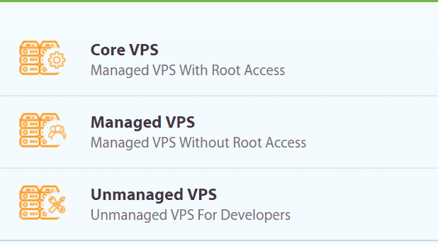 A2 Hosting VPS Options